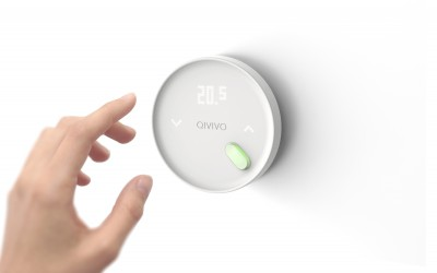 Le nouveau Qivivo : thermostat intelligent et sensible