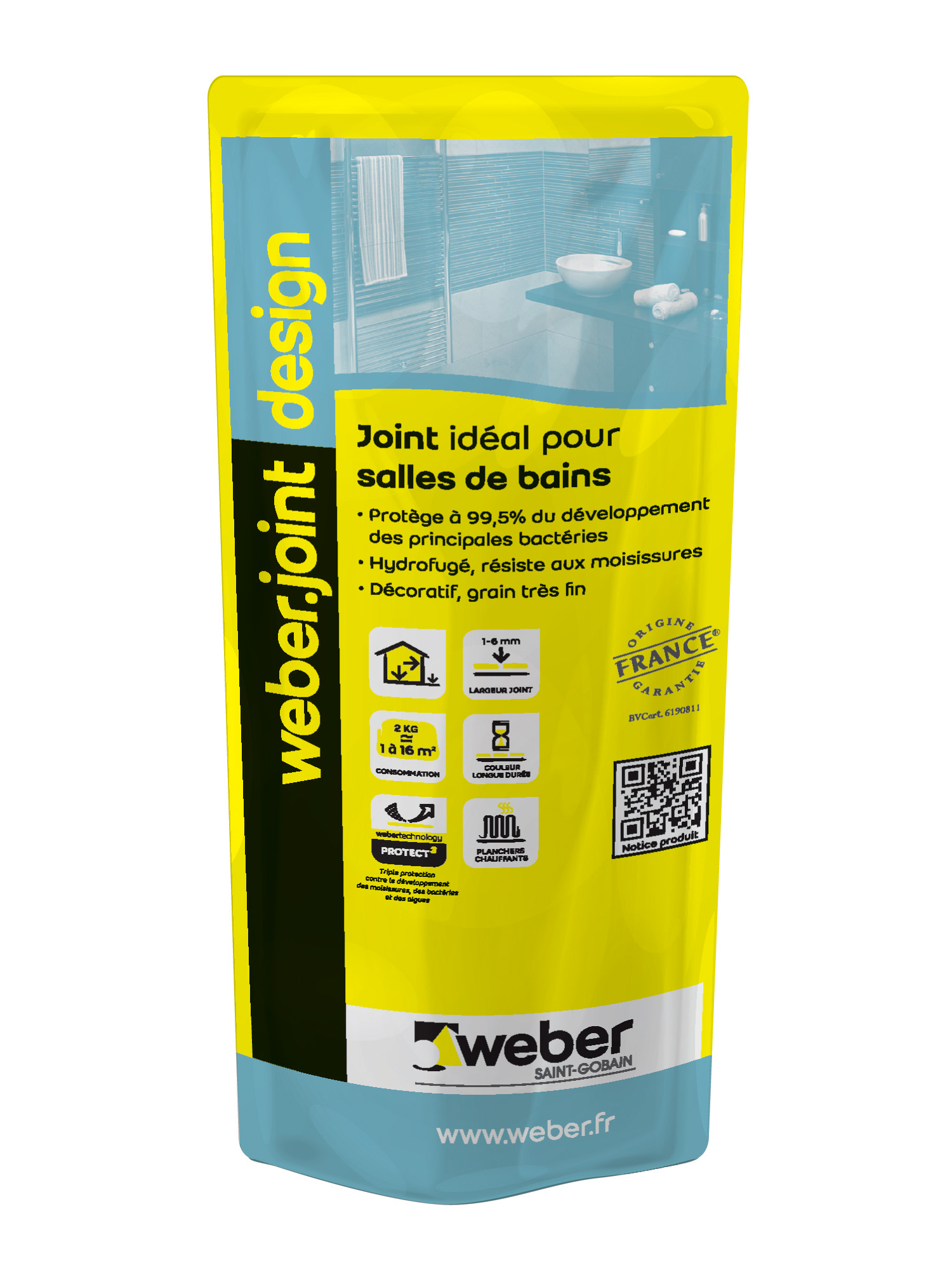 Design le joint qui prot ge du d veloppement for Weber design